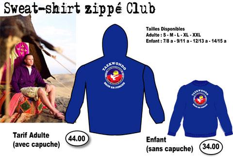 T-shirt du Club de Taekwondo de Briis sous Forges